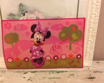 Personalized place mats for kids