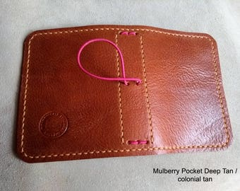 NEW MULBERRY Traveller's Journal range. Midori, Field Notes, Moleskine, Rhodia. Passport/Pocket/A6/A5 etc.