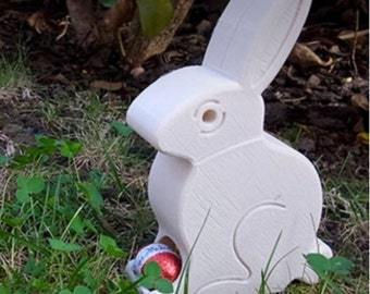 Easter Bunny Easter Egg Dispenser - 3D Printed