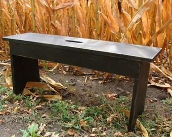 Rustic Bench - Entryway Bench - Wood Bench - Garden Bench - Narrow Bench -  Farmhouse Cottage Custom