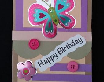 Happy Birthday  #10 (Handmade Thought Card)