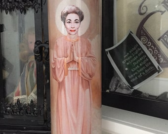 St Joan Crawford Mommie Dearest Mothers Day Prayer Candle