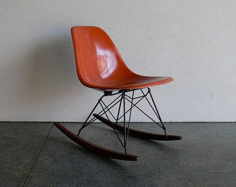 Orange Eames for Herman Miller Chair