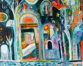 Passing Through - an open edition giclee print