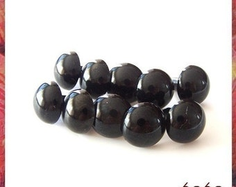 15mm Plastic eyes Black eyes Safety eyes - 10 PAIRS