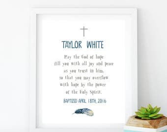 Nursery bible verse i am a child of god baptism gift girl confirmation boy first communion baptism gift dedication boy print baby name sign personalized blessing print boy negle Images