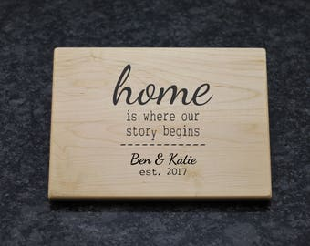 Chopping Board, Housewarming Gift, Personalized Chopping Board, Custom Chopping Board, Housewarming Chopping Board, Wood Cutting Board, 11