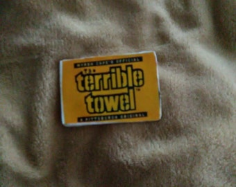 Terrible towel magnet