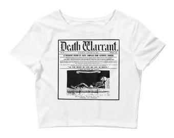 Death Warrant Crop- White
