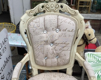 French style bedroom chair
