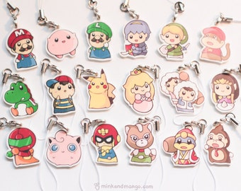 Super Smash Babies Charms