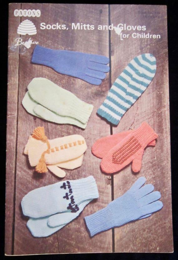 Los patons colmena libro calcetines, mitones y guantes para niños ...