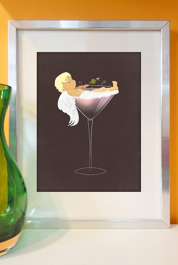 February: Cupid takes a martini bath