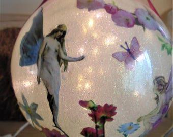 Fairy, Fairy Night Light, Fairy Gift, Fairy Bauble, Baublle, Birthday, Christmas