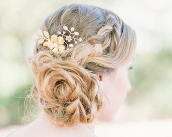 "Bridal hair comb ""Eliana"""