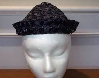 Vintage 1960's  Miss Sally Victor Cone Shaped Hat