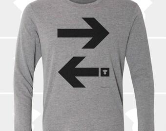 Arrows - Unisex Long Sleeve Shirt