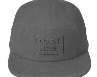 Foster Care-Foster Love Five Panel Camp Cap Hat