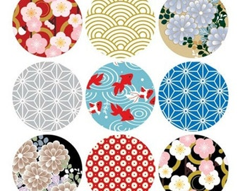 Cute Sticker, Deco Sticker, Japanese Sticker, Scrapbook, Kaleidoscope Sticker