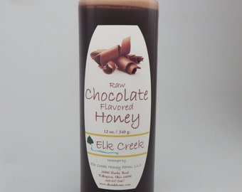 Chocolate Infused Honey