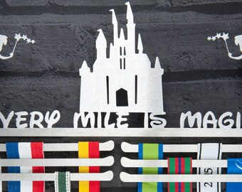 Every Mile Is Magic Medal Display