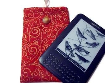 Gadget Case for E Reader or Tablet . Handmade.