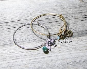 Bracelet arbre de vie ensemble, Bracelets de charme, bijoux de Yoga, Zen