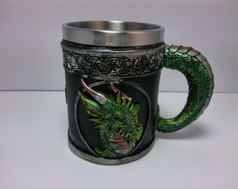 Green Dragon drinking cup.