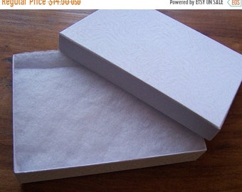 TAX SEASON Stock up 20 Pack Cotton Filled White Color Jewelry Gift and Retail Boxes 5 X 3 X 1 Inch Size