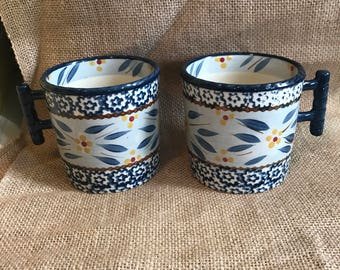 Coffee cups set of two
