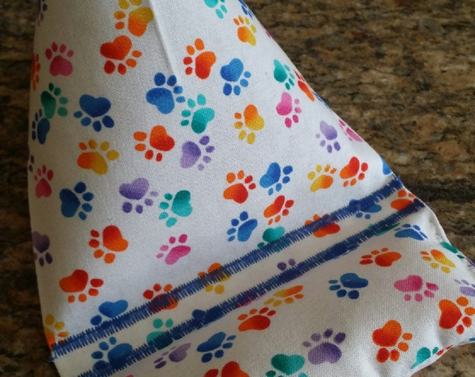 Gadget Bags-Cell Phone Pillows-Pooch Collection (Rainbow Paws)