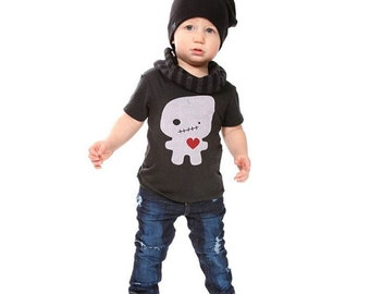 Black Foodoo Love Baby Toddler Kid T-Shirt - Organic Triblend ON SALE
