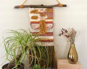 Weaving wall hanging decor
