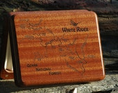 WHITE RIVER MAP Fly Box -...