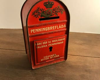 Penningbreflada Coin Bank