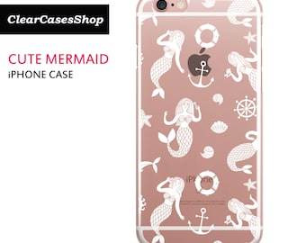 Mermaid iPhone 7 case, Also Available for iPhone 7 Plus, iPhone 6, iPhone 6 Plus, iPhone 6s Plus, iPhone 5/S/SE, S7 & S7 Edge
