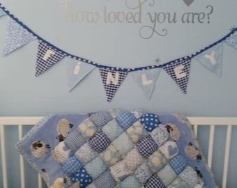 Baby Puff Quilt, made to order