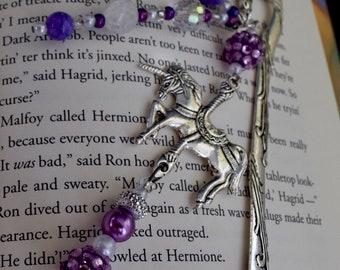 Lovely Lavender Shepherd Hook Book Mark