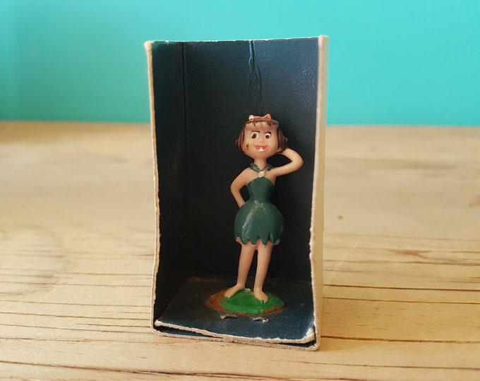 Original Flintstones Betty Figurine - Marx - 1962