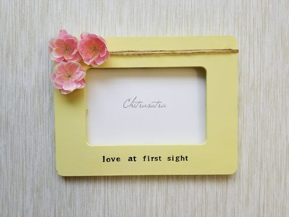 Love at First Sight frame Ultrasound Frame New Baby Frame