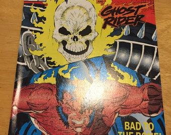Vintage Marvel Comics Presents Wolverine #70 ft Ghost Rider (1988) Rare Vintage Comic Book