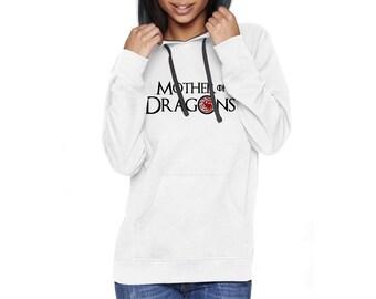 Mother of Dragons, GoT Hoodie, Khaleesi, Daenerys Targaryen, LJ #48