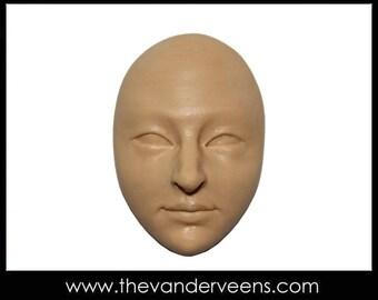 Mold No.58 (Face-Open eyes) by Veronica Jeong