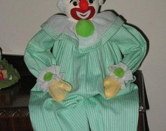 Vintage Clown Shelf Sitter