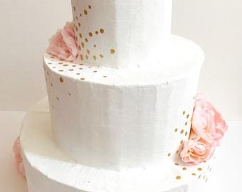 Pink and Gold Wedding Cake Pinata, Wedding Pinata, Wedding Guestbook alternative, Anniversary Pinata, Unconventional Wedding Reception Games