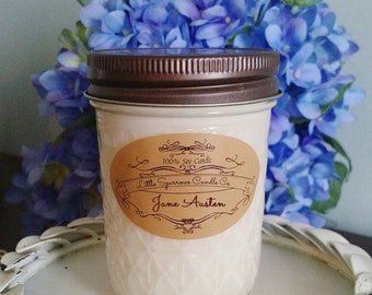 Boardwalk Soy Candle-8oz-12oz- Cotton Candy soy candle-Summer soy candle