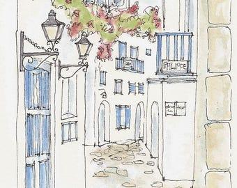 Mykonos Greece, Greece, Travel Art, Kitchen Art