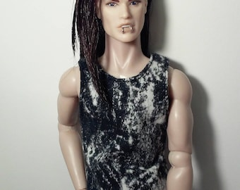 tank top/wifebeater for Integrity Toys homme/male doll
