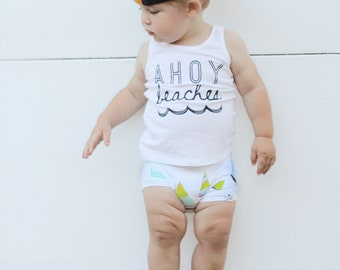 Ahoy Beaches Tank Top