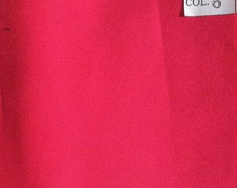 High quality, light cotton twill, hot pink